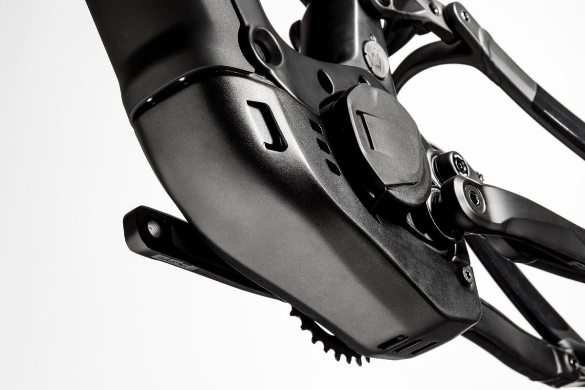 ... und die perfekte Integration des neuen Bosch CX Motor