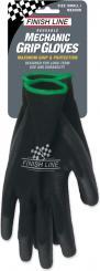 Mechaniker-Handschuhe schwarz