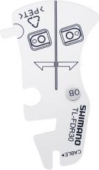 Prüfwerkzeug TL-FDR30 für Schaltzug-Befestigung (Umwerfer)