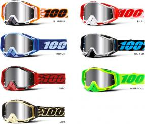 Racecraft Plus goggle injected mirror lens