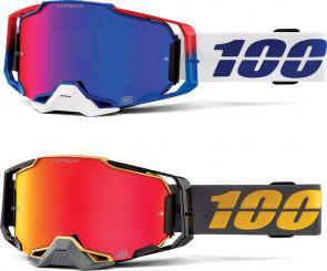 Armega goggle anti fog hiper mirror lens